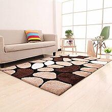 einfache Wohnzimmerteppich/Couchtisch Teppiche/ Schlafzimmer Teppich-Q 160x230cm(63x91inch)