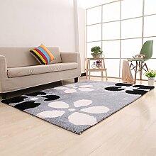 einfache Wohnzimmerteppich/Couchtisch Teppiche/ Schlafzimmer Teppich-V 140x200cm(55x79inch)
