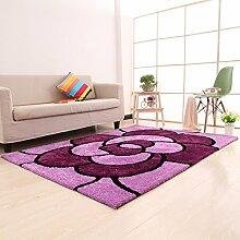 einfache Wohnzimmerteppich/Couchtisch Teppiche/ Schlafzimmer Teppich-L 120x170cm(47x67inch)