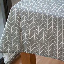 Einfachen karierten tischdecke einfache moderne familie tischtuch stoff baumwolle leinen teetisch wärme romantische tischtuch.frische tischdecke-C 160x100cm(63x39inch)