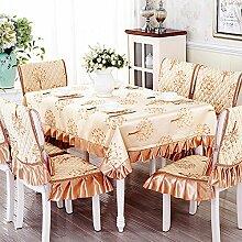 Einfachen karierten Tischdecke Garten Tischdecke