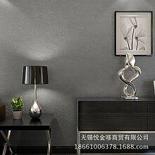 Einfachen Perle schlicht Vliestapete Tapete moderne Schlafzimmer Wohnzimmer TV Hintergrundwand , m gray 68072