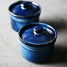 Einfachen Stil Design Geschmorte 盅 Blues Blues