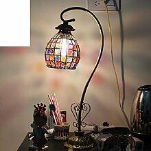 Einfachen Stil,Pastorale Retro,Eisen,Bett,Schlafzimmer,Kommode Lampe/Hochzeit,Home,Dekoration Lampe-A