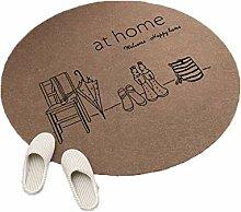 Einfachen Stil Runde Teppiche für Wohnzimmer
