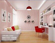 Einfachen Streifen-Tapete/Non-Woven Seidentapete/Hintergrund Schlafzimmer Tapeten/Reine schlicht Seidentapete-C