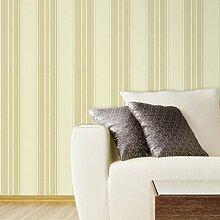 einfachen Streifen Tapete/Schlafzimmer Vlies