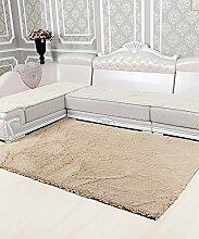 Einfacher Dickerer Teppich Wasserabsorption Rutschfester Viereck Badezimmer Badezimmer Treppen Teppich Hall Wohnzimmer Schlafzimmer Teppich ( Farbe : A , größe : 40*60cm )