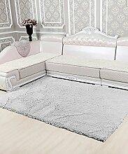 Einfacher Dickerer Teppich Wasserabsorption Rutschfester Viereck Badezimmer Badezimmer Treppen Teppich Hall Wohnzimmer Schlafzimmer Teppich ( Farbe : D , größe : 80*180cm )