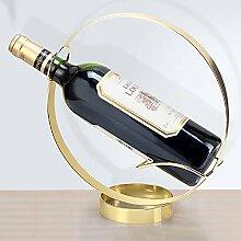 Einfacher Kreis Weinregal, Weinflaschenregal,
