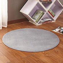 Einfacher Teppich, Korb Rattan Stuhl Teppich, Wohnzimmer Schlafzimmer Teppich, Matten , 3 , diameter 100cm