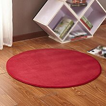 Einfacher Teppich, Korb Rattan Stuhl Teppich, Wohnzimmer Schlafzimmer Teppich, Matten , 9 , diameter 160cm