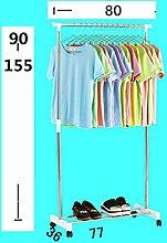 Einfacher zusammenklappbarer Kleiderbügel