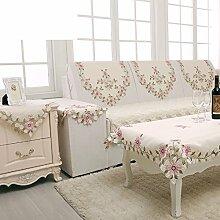 Einfaches sofa handtuch/rückenlehne handtuch/tee tischdecke/nachttisch abdeckung/tischläufer-A 80x60cm(31x24inch)