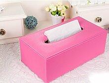 Einfaches Wind-Papier-Tuch-Kasten-Serviette-Karton Europäische Haus-Stab-Dekoration-Dekoration-pumpende Kartone ( Farbe : #1 )