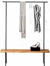 Einfachheit Kleiderschiene, Metall Vertikale