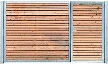 Einfahrtstor Gartentor Elektrisch Holzfüllung