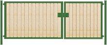 Einfahrtstor / Holztor Premium (2-flügelig)