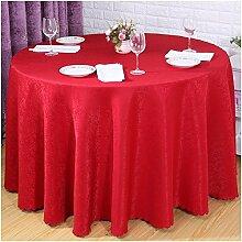 einfarbig druck Polyester Tischdecke Runden tisch, quadratischen tisch hochzeit Hotel Couchtisch Esstisch Geschirr dekoration Staub Tuch , red , 120*160cm