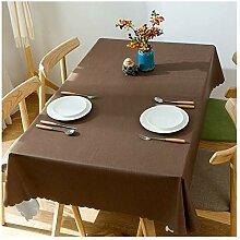 Einfarbig Pvc Tischdecke Wasserdicht