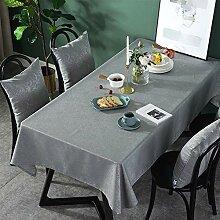Einfarbig Tischdecke Rechteckige Tischdecke Samt
