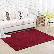 Einfarbiger Teppich Voller Kinder Krabbeldecke