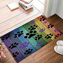 Eingang benutzerdefinierte Fußmatte Hund