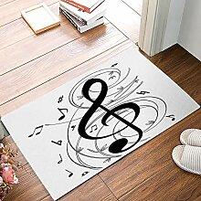 Eingang benutzerdefinierte Fußmatte modische