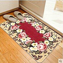 Eingang Fußmatten/Automatten/Saugfähige Matte/Badematte/Küche Matten/Automatten/Fußmatte-C 50x80cm(20x31inch)