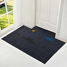 Eingang Tür Matte/ Teppich vor der Tür/Teppich vor der Tür-M 100x140cm(39x55inch)