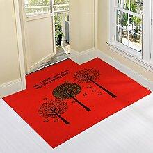 Eingang Tür Matte/ Teppich vor der Tür/Teppich vor der Tür-D 120*120cm