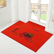 Eingang Tür Matte/ Teppich vor der Tür/Teppich vor der Tür-A 100x100cm(39x39inch)