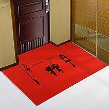 Eingang Tür Matte/ Teppich vor der Tür/Teppich vor der Tür-B 120x140cm(47x55inch)