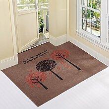 Eingang Tür Matte/ Teppich vor der Tür/Teppich vor der Tür-W 120*120cm