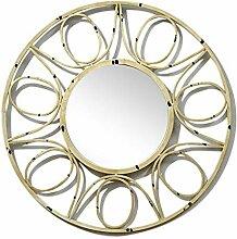 Eingangswand-dekorativer Spiegel-rundes