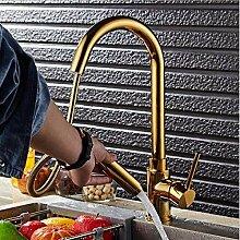 Einhand-Küchenarmatur mit herausziehbarer