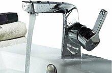 Einhand-Waschtisch-Mischbatterie Bad-Wasserhahn