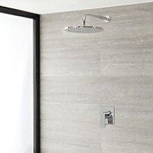 Einhebel-Duscharmatur mit 300mm rundem