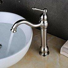 Einhebelmischer 304 Edelstahl Gebürstet Bad