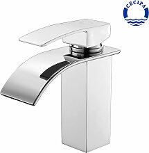 Einhebelmischer Wasserhahnn Bad für Waschbecken
