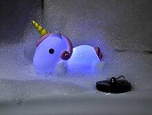 Einhorn Badewannenstöpsel Light Up Bath Plug