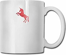 Einhorn rosa Pferd Narwal Mode Kaffeetasse