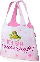 Einkaufs Tasche, Beutel ICH BIN ZAUBERHAFT rosa pink  LaVida (4,95 EUR / Stück)