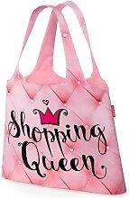 Einkaufs Tasche, Beutel SHOPPING QUEEN pink Tasche für dich LaVida (4,95 EUR / Stück)