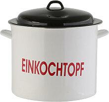 EINKOCHTOPF Stahl 25 L