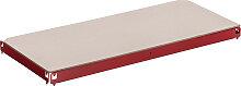 Einlegeboden, Ersatzteil Regal-Boden für Schwerlastregal 90 x 40 cm-rot