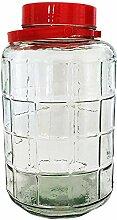 Einmachglas 10 L aus Glas Twist-Off Vorratsglas