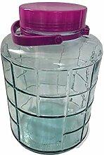Einmachglas 12 L aus Glas Twist-Off Vorratsglas