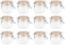 Einmachglas mit Bügelverschluss - 11 x 10,5 cm