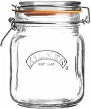 Einmachglas (Set of 12) Kilner Größe: 15 cm H x